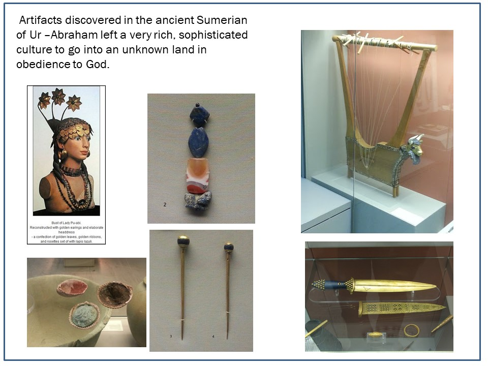 Artifacts from Ur, Abraham's time