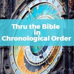 Through The Bible in Chronological Order