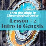 Intro to Genesis & Job