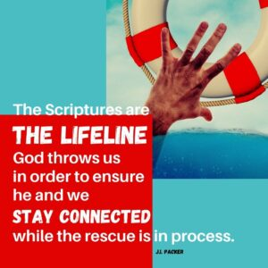 The Bible is our lifeline