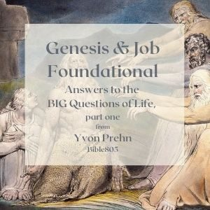 Genesis and Job, answers to the BIG questions of life